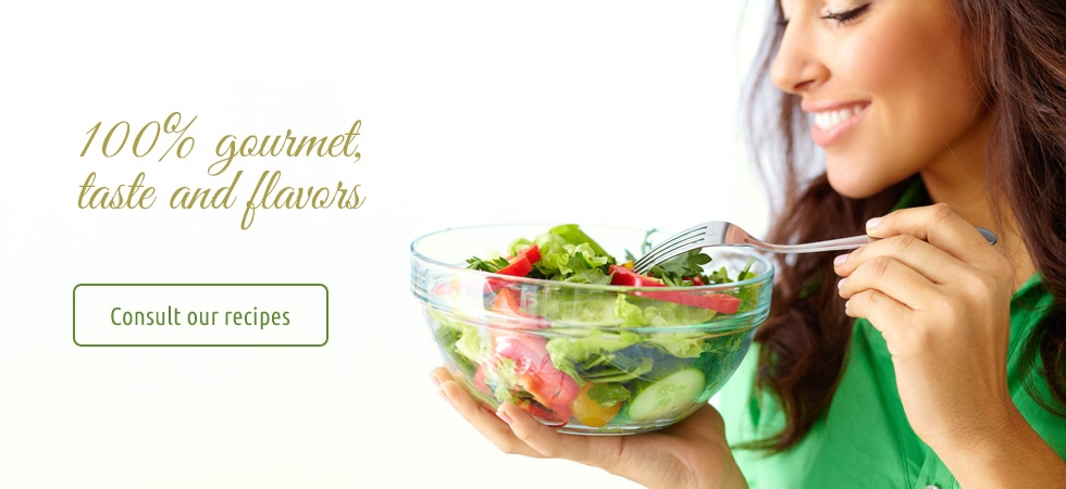 Our Recipes: 100% Gourmet, taste and flavor!